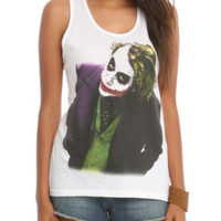 DC Comics The Dark Knight Joker Girls Tank Top