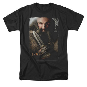 The Hobbit Men's  Dwalin T-shirt Black Rockabilia