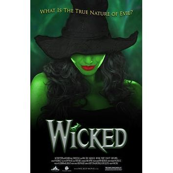 Wicked Theater Show Art Poster Standup 4inx6in
