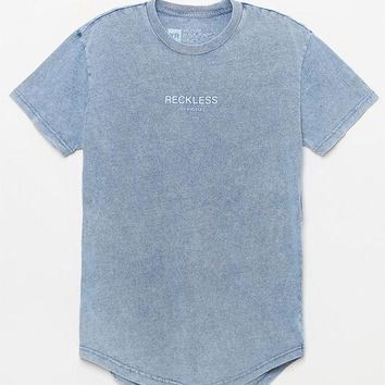 VONE05W Young and Reckless Laramie Washed Scallop T-Shirt