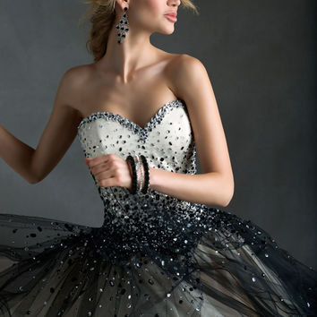 Sparkly beaded tulle white black young ladies cocktail dresses short under 100 mini prom dress ready-to-ship