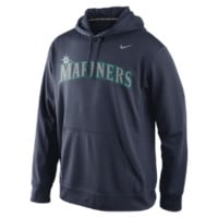 Nike Performance Pullover 1.4 (MLB Mariners) Men's Training Hoodie: Size Small (Blue)