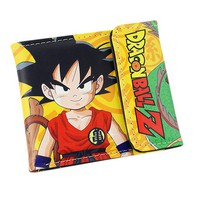 Dragonball Z Kid Goku Short Style Wallet