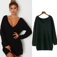 Women's Fashion Winter Dress Sweater [31067439130]