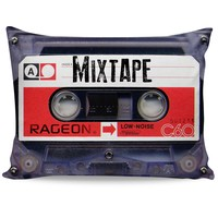 Mixtape Pillow Case
