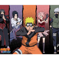 "Naruto: ""Poster - Group 1 (52x38cm) (ABYDCO171)"" : TokyoToys.com: UK Based e-store, Anime Toys Retail & Wholesale, Manga Action Figures,  Hentai Statues, Japanese Snacks, Pocky, DVDs, Gashapon,  Cosplay, Monkey Shirt, Final Fantasy, Bleach, Naruto, Death N"