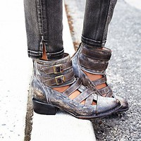 Freebird by Steven + Free People Womens Bonneville Ankle Boot