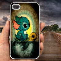 stich and turtle-iPhone cases 4/4S Case iPhone 5/5S/5C Case Samsung Galaxy S3/S4 Case