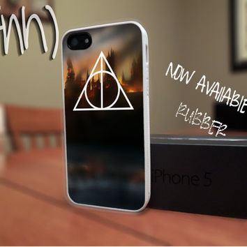 Harry Potter iPhone 5 Deathly Hallows Rubber Case