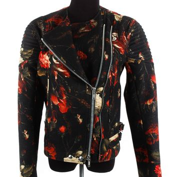 Givenchy Boiled Wool Print Jacket