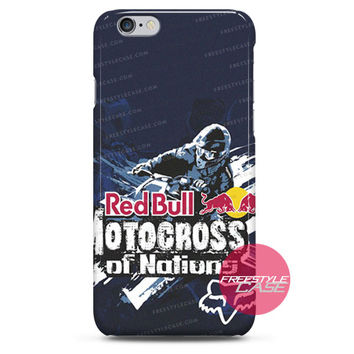Red Bull Motocross Of Nations iPhone Case 3, 4, 5, 6 Cover