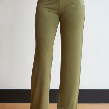 Solid Silky Color Palazzos - Regular Sizes! - 7 Colors!
