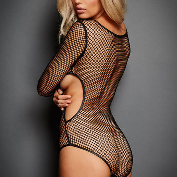 Secret Obsession Fishnet Teddy