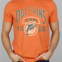 NFL Miami Dolphins Kick Off Tee T-Shirt by Junk Food