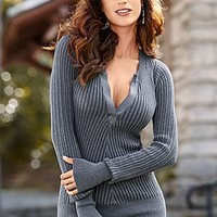 Women's Henley sweater by VENUS