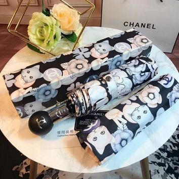 Chanel Fashion Folding Umbrella