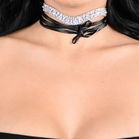 Move With The Wave Choker - Silver