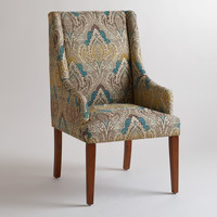 WOVEN JACQUARD HAYDEN DINING CHAIR