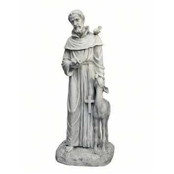 Saint Francis of Assisi, Patron Saint of Animals Garden Statue