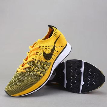 Trendsetter Nike Flyknit Trainer Women Men Fashion Sneakers Sport Shoes