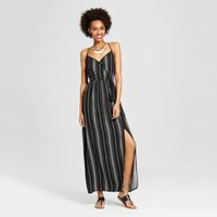 Women's Wrap V-Neck Maxi Dress - Xhilaration™ (Juniors')