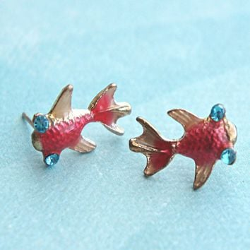 Koi Fish Earrings