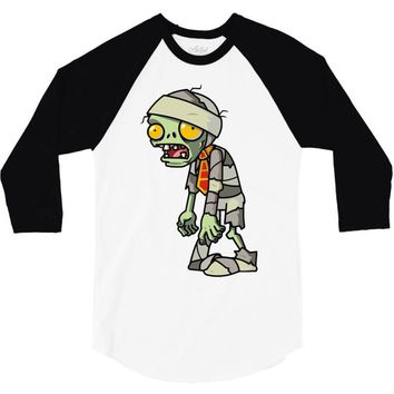 plants vs zombies 3/4 Sleeve Shirt