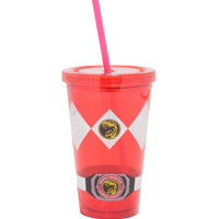 Mighty Morphin Power Rangers Red Ranger Acrylic Travel Cup