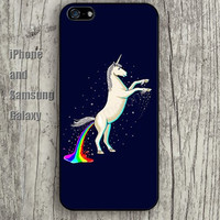 Unicorn Rainbow colorful iphone 6 6 plus iPhone 5 5S 5C case Samsung S3,S4,S5 case Ipod Silicone plastic Phone cover Waterproof