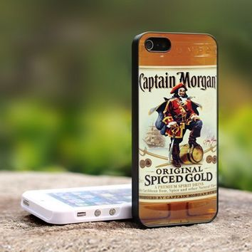 Captain Morgan - For iPhone 4,4S Black Case Cover