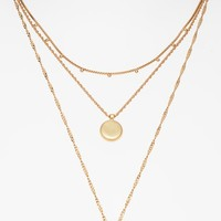 Madewell Coin Layered Necklace | Nordstrom