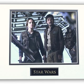 STAR WARS JYN ERSO ANDOR MATTED LICENSED 8X10 PHOTO FOR FRAME 11X14 ROGUE ONE
