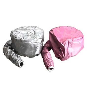 Easy Use Hair Perm Hair Dryer Nursing Dye Hairs Modelling Warm Air Drying Treatment Cap Home Safer Than Electric Cap