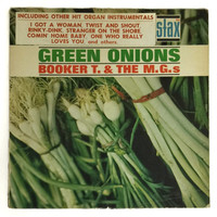 Vintage 60s Booker T. & The M.G.'s Green Onions Stax Mono Album Record Vinyl LP