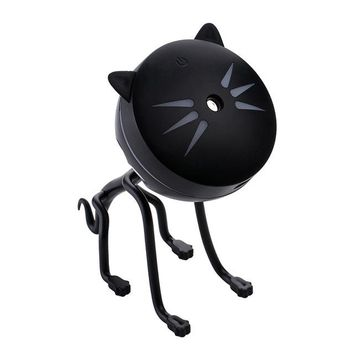 150ML Cat Ultrasonic Humidifier Aromatherapy Diffusers USB Car Air Freshener With LED Bulb
