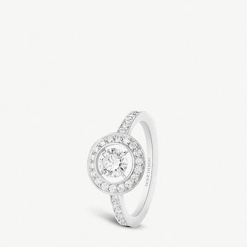 BOUCHERON Ava round diamond white-gold ring