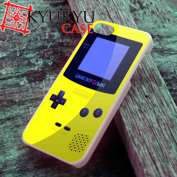 Yellow GameBoy Color - iPhone 4/4S, iPhone 5/5S, iPhone 5C Case and Samsung Galaxy S2 i9100, S3 i9300, S4 i9500 Case