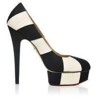 Charlotte Olympia - Priscilla In Stripes - Spring / Summer 12 Collection