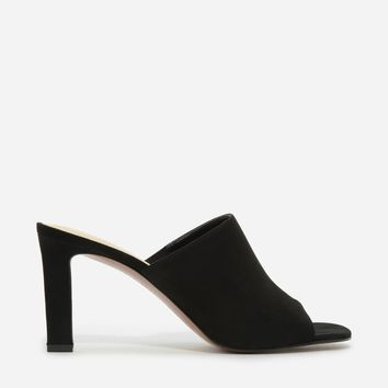 Black Basic Mules|CHARLES & KEITH