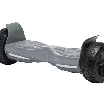 "UL 2272 M38 All Terrain 8"" UL2272 Bluetooth Hoverboard Grey v5"