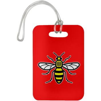 Manchester Bee Luggage Bag Tag