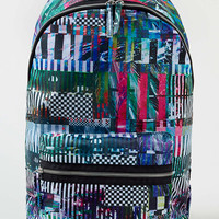 Glitch Print Backpack - TOPMAN USA