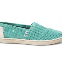 Freetown Seafoam Youth Alpargata | TOMS.com