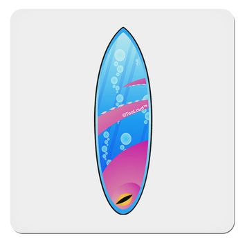 """Octopus Surfboard 4x4"""" Square Sticker by TooLoud"""
