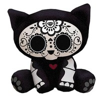 Skelanimals Day of the Dead Kit (Cat) 6-Inch Plush - Toynami - Skelanimals - Plush at Entertainment Earth