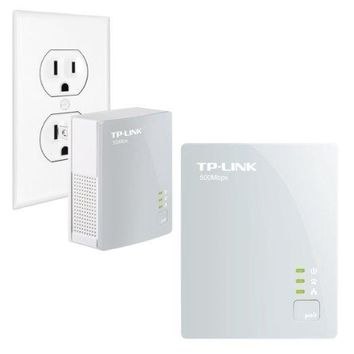 Tp-link Usa Corporation Homeplug Av Standard Compliant, High-speed Data Transfer Rates Of Up To 50