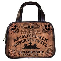 Ouija Board Day of the Dead hand bag