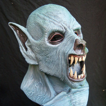 WEREWOLF LATEX MASK  Halloween Costume Horror Movie Prop by Eric G. Salisbury and Macabre Inside Studios