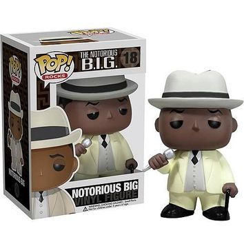 Notorious BIG Vinyl Figure Biggie Smalls POP! Rocks #18 Funko