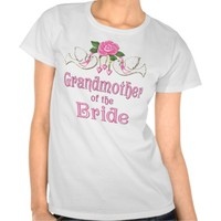 Dove & Rose - Grandmother of the Bride T-shirt